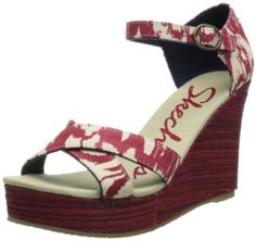 e3a16215b3be Skechers Women s Bomb Shell-Ikat Wedge Sandal on shopstyle.com High Wedges