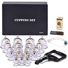 Premium Quality Cupping Set W/ 19 Cups ***best Cupping Set In Korea*** Beneficial To The Sperm Acupuncture