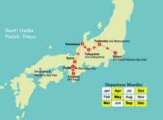 Japan Discovered Map 2015_2016