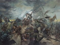 "Lucas' Art: The Battle of Five Armies - ""The Last Stand of Thorin Oakenshield"""