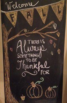 Autumn / Fall / Thanksgiving Chalkboard Art - Chalk Art İdeas in 2019 Fall Chalkboard Art, Thanksgiving Chalkboard, Chalkboard Doodles, Chalkboard Writing, Kitchen Chalkboard, Chalkboard Drawings, Chalkboard Lettering, Chalkboard Designs, Chalk Drawings
