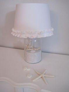 #DIY Beach Cottage Lamp