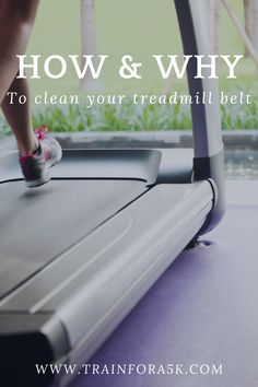 To increase the lifespan of your treadmill you have to make sure that it is well maintained. In this article we explain how to clean your treadmill belt, and why it is important for you to clean your treadmill belt. Jogging For Beginners, Running Plan, Running For Beginners, Running Tips, Running On Treadmill, Treadmill Workouts, Easy Workouts, Fitness Goals