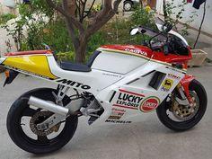 Mopeds, Sport Bikes, Road Bike, Motorbikes, Badass, Motorcycle, Gardening, Vehicles, Vintage