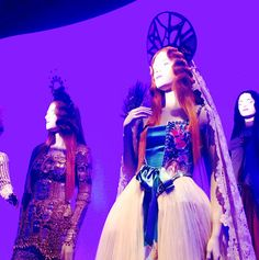 Jean Paul Gaultier Exhibition at the Grand Palais. @jpgaultier