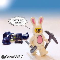 #LEGO_Galaxy_Patrol #EasterSunday #EasterBunny #BunnySuit #Easter #HappyEaster #LEGO @LEGO
