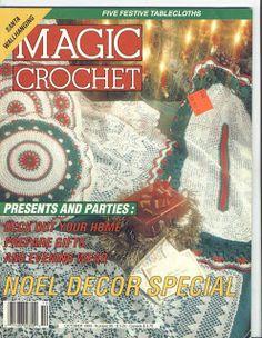 Magic Crochet No. 86; October 1993