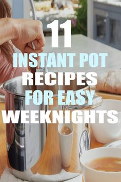 11 Instant Pot Recipes for Easy Weeknights I love these Instant Pot recipes! Use these to improve your healthy living, diet & weight loss targets! These recipes give you lots of options for your low-carb diet. Lamb Recipes, Crockpot Recipes, Lunch Recipes, Keto Recipes, Pressure Cooker Recipes, Pressure Cooking, Slow Cooker, Instant Pot Dinner Recipes, Easy Weeknight Dinners