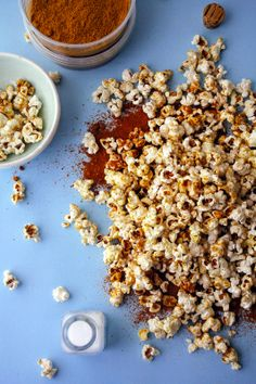 Sweet & Salty Curry Molasses Popcorn