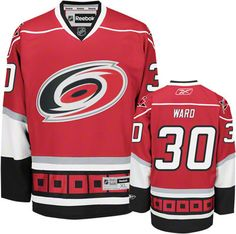 Carolina Hurricanes Cam Ward 30 Red Authentic Jersey Sale