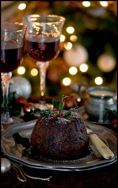 England's Christmas Pudding - THE MERRIEST OF CHRISTMAS' TO EVERYONE!!!  CHEERS!! #MyPerfectInterfloraChristmas