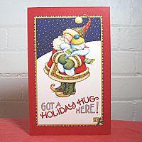 Holiday Hug - Christmas Card
