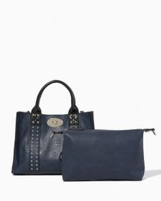 Holmes Bag-in-Bag Satchel