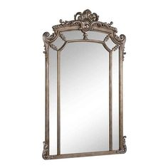 Somette Antique Framed Mirror