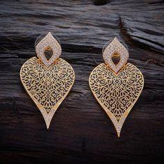 Zircon Earring 97069 – Kushal's Fashion Jewellery