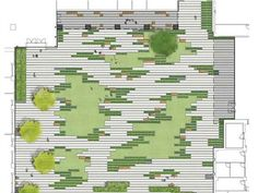 Paving pattern // Andrea Cochran This isnt a pattern. It is a design concept. Learn to unsee the forms and systems you put apriori. Landscape Concept, Landscape Architecture Design, Green Landscape, Landscape Plans, Architecture Jobs, Plaza Design, Paving Pattern, Urban Park, Site Plans