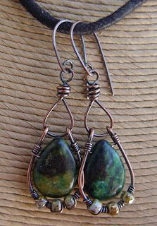 Jean A. Wells Handcrafted Artisan Jewelry: Necklace, Bracelet and Earring Sets