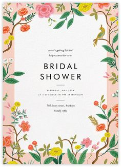 Bridal shower invitations - Paperless Post