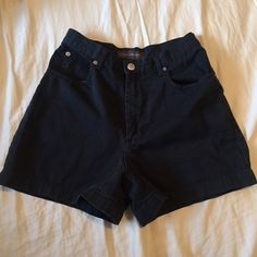 Black High Waisted Shorts High rise shorts. Very comfy with a great fit. No flaws, just preloved. Orig. $48  Brand: Banana Republic Size: 4  Before shipment, ALL items in my closet will be washed, ironed, and lint rolled if needed.   Check out my closet for more cute items!  I ALWAYS discount bundles! Banana Republic Shorts Jean Shorts