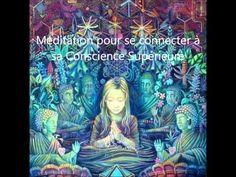 Méditation guidée pour se connecter à sa Conscience Supérieure - YouTube Reiki, Relaxation Meditation, Before Sleep, Stress Less, Dalai Lama, Tai Chi, Chakra, Music Videos, Religion