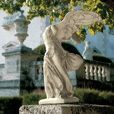 Found it at Wayfair - Nike of Samothrace Statue