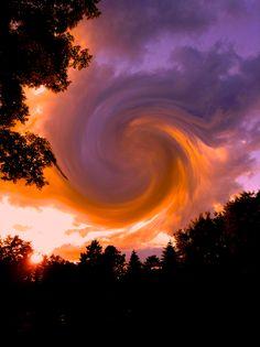 sunset swirl 2 - lia.eliades