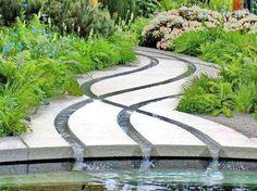► ► Mil ideas para la casa y el jardin ♥: Río que alimenta la alberca ...