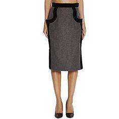 VIVIENNE WESTWOOD Vivienne Westwood Womens 86400 224Gr Grey Wool Skirt. #viviennewestwood #cloth #