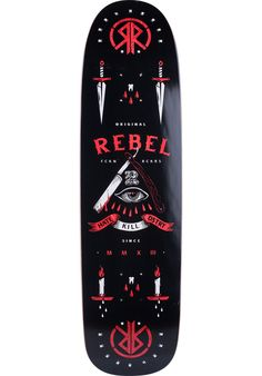 Rebel-Rockers HKD-Dreamgirl - titus-shop.com  #Deck #Skateboard #titus #titusskateshop
