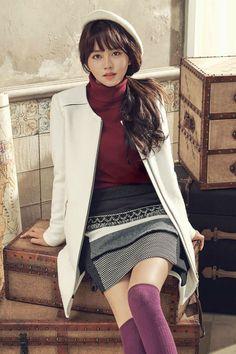 Korean actress Kim So Hyun SOUP fashion