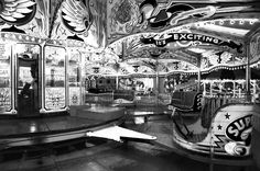 Fairground picture by Waltzers