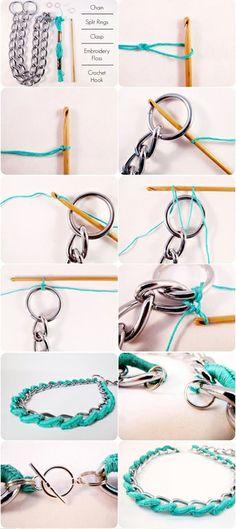 Haz tu propios accesorios, con esta idea fácil, se la puedes regalar a tu amiga, tu hermana a  quien vos quieras  o incluso puedes hacértela par ti!