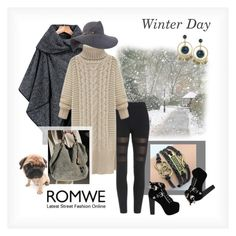 """""""Snowy Winter Day"""" by ul-inn ❤ liked on Polyvore featuring Jeffrey Campbell and Eugenia Kim"""