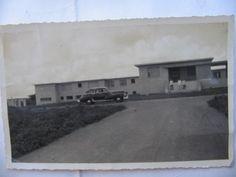 Foto muy antigua con el Hospital (hoy Iván Portuondo) en construcción .
