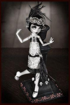 OOAK Monster High Frankie Flapper Doll. On eBay. Sold. $116.00