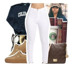 """""""11/15/16"""" by eniola29 ❤ liked on Polyvore featuring Illamasqua, Columbia, Puma and Michael Kors"""