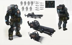 Super-Soldier Concept Art