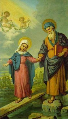Sacra Galeria: São Joaquim, pai da Virgem Maria