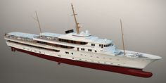McPherson Yacht Design presents 116 metre classically styled yacht - New Designs - SuperyachtTimes.com