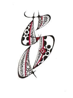 Swing alphabet, swing initials according to Sherri Kiesel- Schwungalphabet, Schwunginitialen nach Sherri Kiesel Swing alphabet, swing initials according to Sherri Kiesel - Letter S Calligraphy, Hand Lettering Alphabet, Doodle Lettering, Creative Lettering, Lettering Design, Caligraphy, Ancient Alphabets, Dad Crafts, Graffiti Font