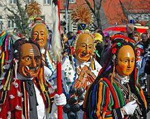 Maskenträger aus Rottweil