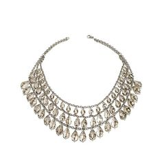 Shop Stately Steel Glass Teardrop Statement Necklace at HSN mobile Hsn Jewelry, Jewellery, Steel Jewelry, Jewelry Design, Jewelry Making, Diamond, Glass, Vintage, Christmas Ideas