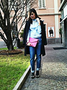 Fucsia, leopard and baby blue!  http://thefashionprincessblog.blogspot.it/2014/01/fucsia-leopard-and-baby-blue.html