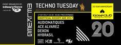 "RA: Techno Tuesday Amsterdam - ""20 Year Anniversary Loose Club"" at Melkweg, Amsterdam"