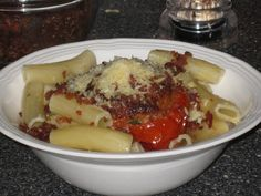 Food Lust People Love: Oven-roasted Tomatoes with Pasta