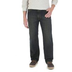 Wrangler Men's Advanced Comfort Regular Fit Jean, Size: 40 x 32, Black