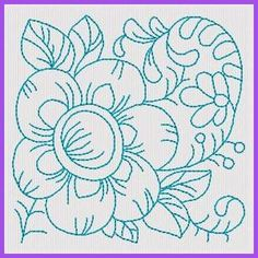 RW Floral Blocks - Free Instant Machine Embroidery Designs