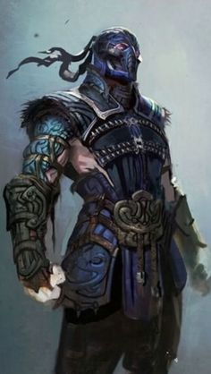 Mortal Kombat - Sub Zero Sub Zero Mortal Kombat, Mortal Kombat Comics, Scorpion Mortal Kombat, Mortal Kombat Art, Character Inspiration, Character Art, Character Design, Mortal Kombat Wallpapers, Video Game Characters