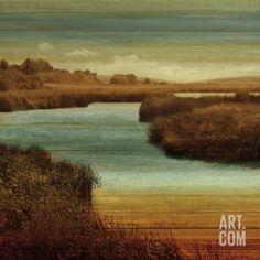 On The Water II Art Print by John Seba at Art.com