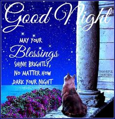 Goodnight May Your Blessings Shine Brightly goodnight good night goodnight quotes goodnight quote goodnite goodnight quotes for friends goodnight quotes for family god bless goodnight quotes Good Night Qoutes, Good Night Thoughts, Good Night Sleep Tight, Good Night Prayer, Cute Good Night, Good Night Friends, Good Night Blessings, Good Night Messages, Good Night Wishes